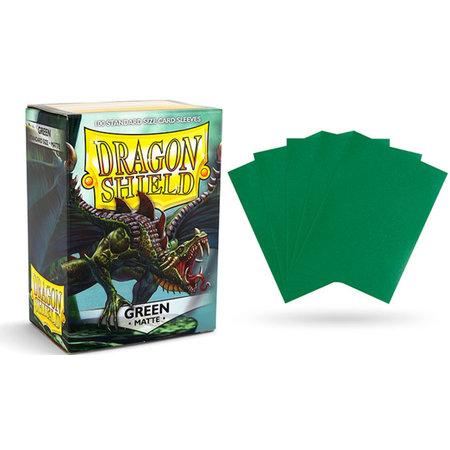 Arcane Tinman Dragon Shield Sleeves: Matte Green