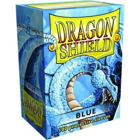 Arcane Tinman Dragon Shield Sleeves Blue 100