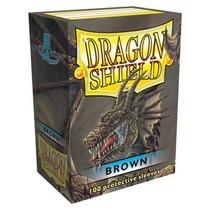 Dragon Shield Sleeves Brown 100