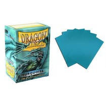 Dragon Shield Sleeves Turquoise 100