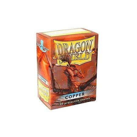 Arcane Tinman Dragon Shield Sleeves Copper 100