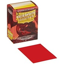 Dragon Shield Sleeves Crimson 100