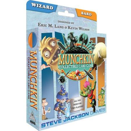 Steve Jackson Games Munchkin CCG: Bard/Wizard Starter Set