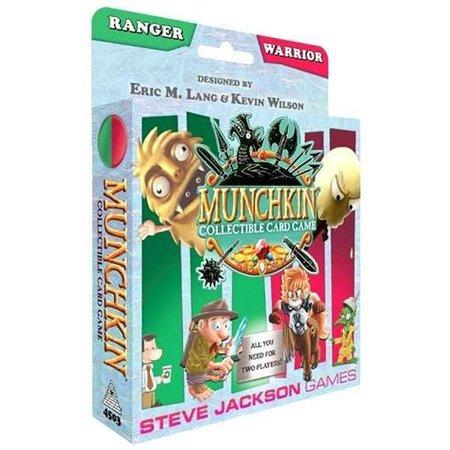 Steve Jackson Games Munchkin CCG: Ranger/Warrior Starter Set