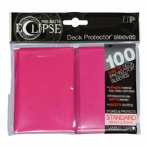 Sleeves Pro-Matte Eclipse - Hot Pink (100)