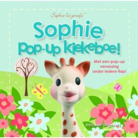 Sophie de Giraf Sophie pop-up Kiekeboe!