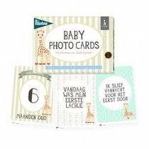 Sophie de Giraffe: Baby photo cards