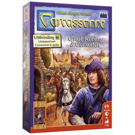 999-Games Carcassonne: Graaf, Koning en Consorten - Uitbreiding