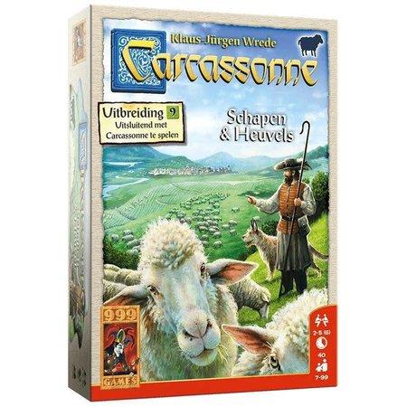 999-Games Carcassonne: Schapen en Heuvels - Uitbreiding