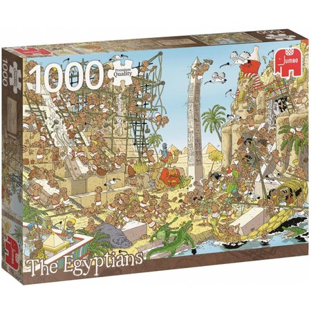Jumbo 1000 Pieces of History -The Egyptians (1000)