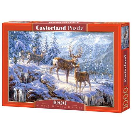 Castorland Winter Mountain Light (1000)