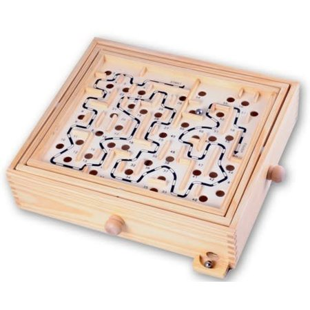 HOT games Labyrinth Hout groot 32x28x8