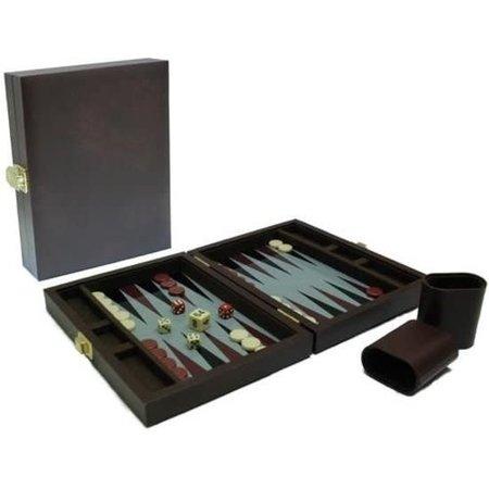 Philos Backgammon Koffer magnetisch 23x17 luxe reisde.