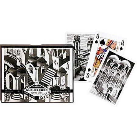 Piatnik Speelkaartenset Escher Up & Down dubbel Piatnik**