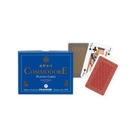 Piatnik Speelkaartenset Commodore Blauw Piatnik
