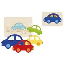 Puzzel 5 lagen Auto