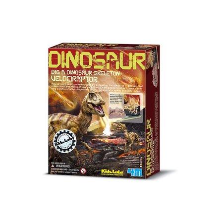 4M Veliciraptor (Graaf je eigen dinosaurus op)