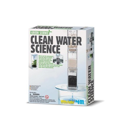 4M Water filter (Green science)