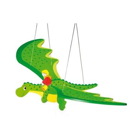 Goki Zweeffiguur Draak met kind (Goki)