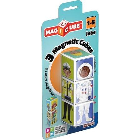 Geomag Magicube: 3 Magnetic Cube Jobs