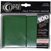 Sleeves Pro-Matte Eclipse - Forest Green (100)