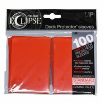 Sleeves Pro-Matte Eclipse - Apple Red (100)