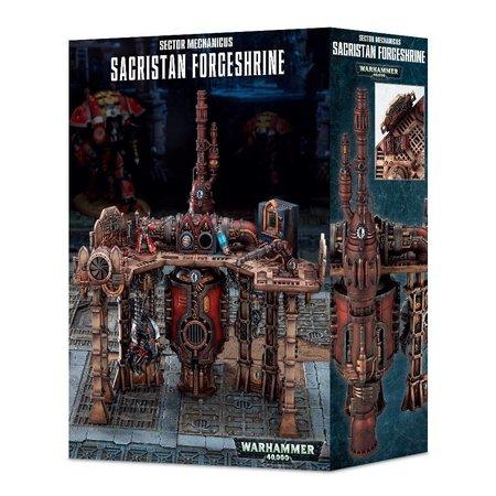 Games Workshop Warhammer 40,000 Terrain: Sector Mechanicus - Sacristan Forgeshrine
