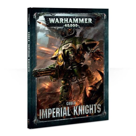 Games Workshop Warhammer 40,000 8th Edition Rulebook Imperium Codex: Imperial Knights (HC)