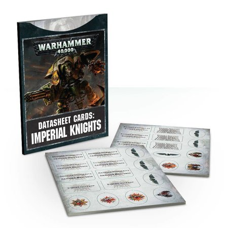 Games Workshop Warhammer 40,000 8th Edition Datasheets Imperium: Imperial Knights