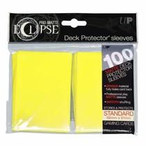 Sleeves Pro-Matte Eclipse - Lemon Yellow (100)