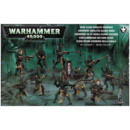 Games Workshop Warhammer 40,000 Xenos Aeldari Drukhari: Kabalite Warriors
