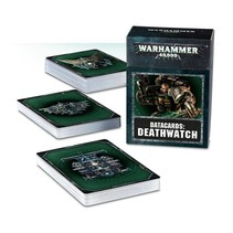 Warhammer 40,000 8th Edition Datacards Imperium: Adeptus Astartes Deathwatch