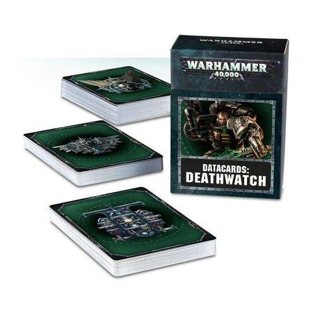 Games Workshop Warhammer 40,000 8th Edition Datacards Imperium: Adeptus Astartes Deathwatch