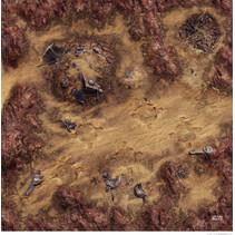 Star Wars Legion: Desert Ruins Gamemat