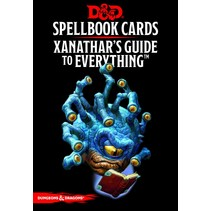 D&D 5th Edition Spellbook Cards: Xanathar's Guide to Everything