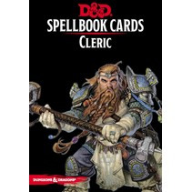 D&D 5th Edition Spellbook Cards: Cleric