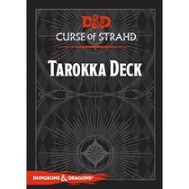 D&D 5th Edition Adventures: Curse of Strahd Tarokka Deck