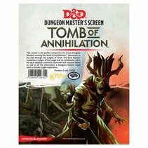 D&D 5th Edition Dungeon Master Screen: Tomb of Annihilation