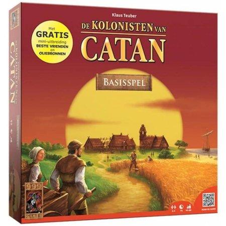 999-Games Kolonisten van Catan 6e Editie (met Beste Vrienden & Oliebronnen)