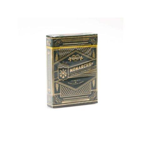 U.S. Playing Card Company Monarchs Green Gold speelkaarten