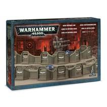 Warhammer 40k Terrain: Aegis Defence Line