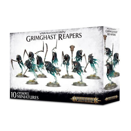 Games Workshop Age of Sigmar Nighthaunt: Grimghast Reapers
