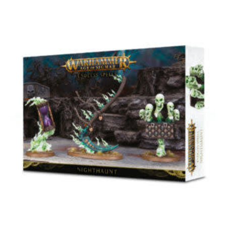 Games Workshop Age of Sigmar: Malign Sorcery - Endless Spells for Nighthaunt