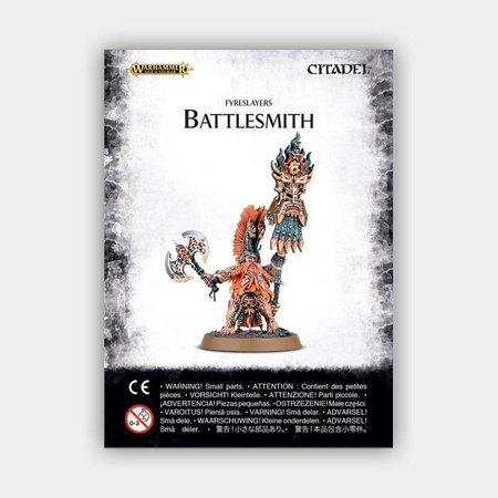 Games Workshop Age of Sigmar Duardin Fyreslayers: Battlesmith