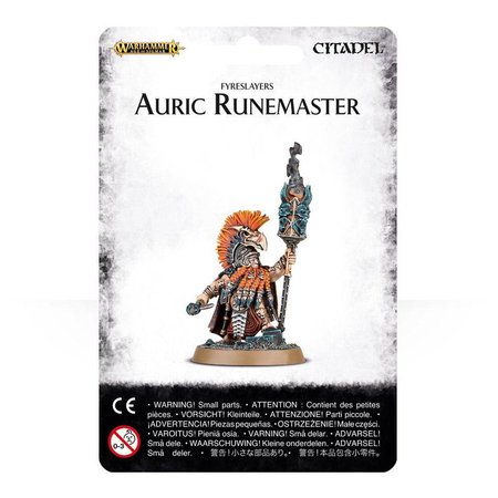 Games Workshop Age of Sigmar Duardin Fyreslayers: Auric Runemaster