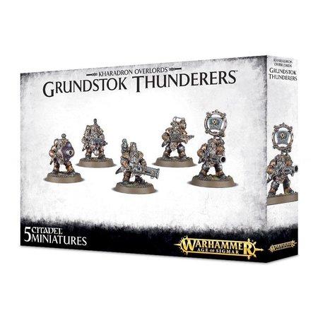 Games Workshop Age of Sigmar Duardin Kharadron Overlords: Grundstok Thunderers
