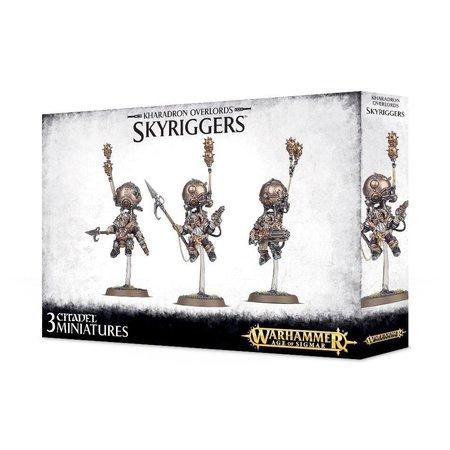 Games Workshop Age of Sigmar Duardin Kharadron Overlords: Endrinriggers/Skywardens