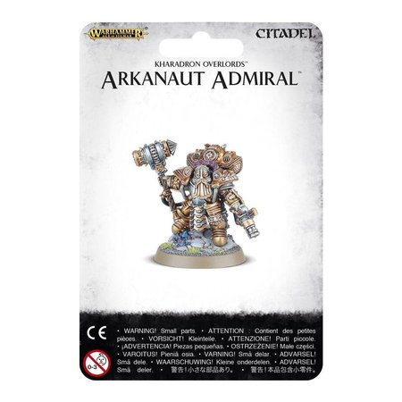 Games Workshop Age of Sigmar Duardin Kharadron Overlords: Arkanaut Admiral