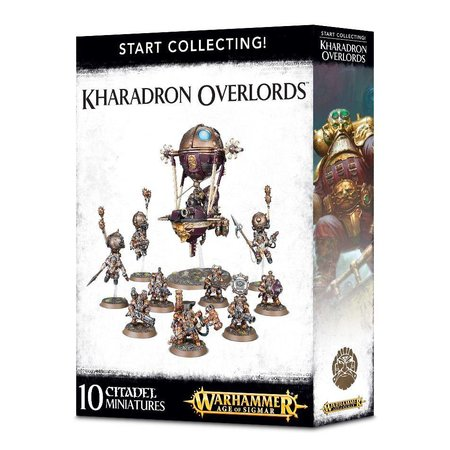Games Workshop Age of Sigmar Duardin Kharadron Overlords Start Collecting Set