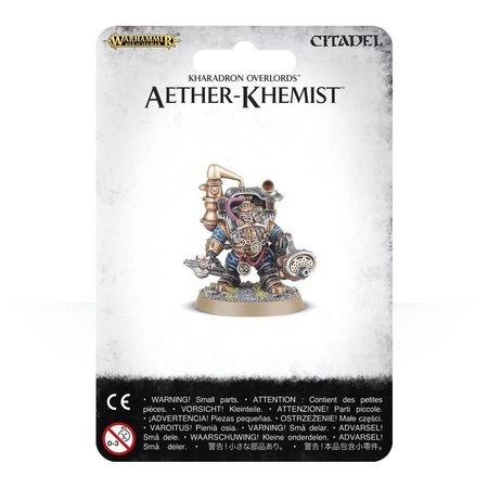 Games Workshop Age of Sigmar Duardin Kharadron Overlords: Aether-Khemist